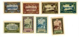 3435. Lithuania #256-263 Comp. Set 1932 MLH