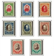3439. Lithuania #272-277B Comp. Set 1933 MLH