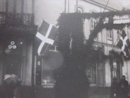 1920 Document Historique 22é Chasseur Alpin Choisi Pr Protéger Plébiscite Rattachement Du SCHLESWIG-HOLSTEIN Au DANMARK - Historische Dokumente