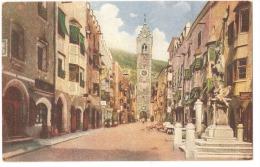 VIPITENO ( BOLZANO ) - BRENNERSTRASSE - STERZING - GERSTENBERGER & MULLER - 1923 - Vipiteno