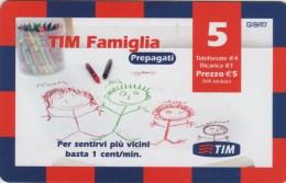 *ITALIA : TIM FAMIGLIA (FAM5-C)* - Ricarica Usata - Italia