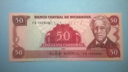 NICARAGUA. 50 CORDOBAS. 1985. FDS - Altri – America