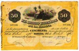 Cuba 50 pesos 1876