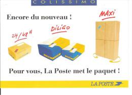 LA POSTE DELEGATION OUEST - COLISSIMO - Advertising