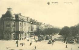 BRUXELLES - Avenue Louise - Vervoer (openbaar)