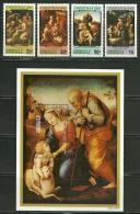 "Dominica   ""Christmas 1982-Painting by Raphael""     Set & Souv. Sheet    SC# 786-90   MNH**"