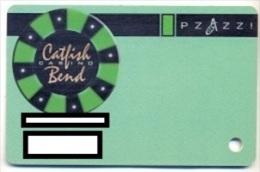 Catfish Bend Casino, Burlington, IA,  U.S.A., older used slot or player�s card,  catfish-1