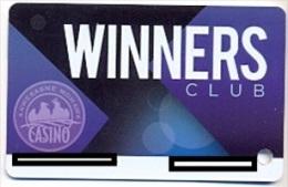 Akwesasne Mohawk Casino, Hogansburg, NY, U.S.A., older used slot or player�s card, akwesasne-1