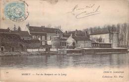 CPA Moret Vue Des Remparts Sur Le Loing ER 1949 - Moret Sur Loing