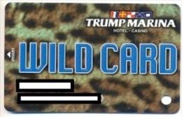 Trump Marina Casino, Atlantic City, NJ, U.S.A., older used slot card, trump-15
