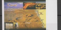 O) 2004 PERU, CARAL CITY, ANCIENT CIVILIZATION OF AMERICA, IMPERFORATE PROOF, MNH - Peru