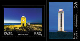 2012 Iceland - Lighthouses Of Iceland - Set II - 2v S.adhesive MNH** - Fari