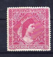 Kaiserin Elisabeth Vignette ungebraucht