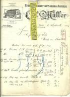 Autriche - WIEN - Facture MÜLLER - Optique – 1905 - REF 132 - Autriche