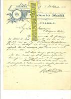 Italie - MASSA - Facture RAFFI – 1904 - REF 132 - Italie