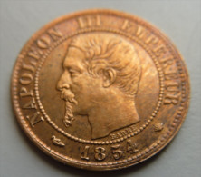 1 Centime 1854 MA - A. 1 Centime