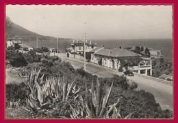 ANTHEOR. Quartier Bonne Brise. - La Route En Corniche Et Le Restaurant Bonne Brise. (C.P.S.M. - Grand Format.) - Antheor