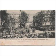 PERTP1716C-LFTD503TARCAS.T Arjeta Postal PERSONAJES.Entierro De La ENTIQUETA DE BELGICA.1902 - Castillos