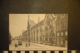 CP, 62, Arras Le Saint Sacrement N°80 Edition LL Tampon Verso 3eme Regiment Du Genie Le Conseil D'administration - Arras