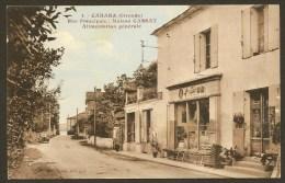 CABARA Rare Rue Principale Alimentation Générale CASSAT Gironde (33) - Otros Municipios
