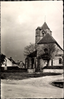 Cp Ozouer Le Voulgis Seine Et Marne, L'Eglise Et Le Monument Aux Morts - Other Municipalities