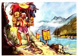 SANELLA Sammelwerk Bild Nr. 72 Teeträger In Tibet (China - Tibet - Japan) - Adesivi