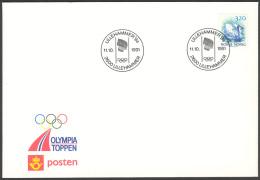 NORWAY - «Lillehammer Winter OL 1994» Official Cacheted Cover With Lillehammer OL Circular Postmark Oct.1991 - Winter 1994: Lillehammer