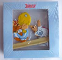 FIGURINE ASTERIX - OBELIX Et LUCIUS FLEURDELOTUS  EN METAL PEINT ATLAS - Neuf En Boîte -  Le Tour De Gaule - Asterix & Obelix