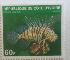 COTE  D'IVOIRE  1979 -   PTEROIS   VOLITANS  -  Neuf - Ivory Coast (1960-...)