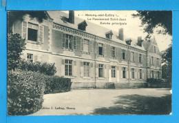 CP, 45, MEUNG SUR LOIRE, Le Pensionnat Saint Jean Entrée Principale, Vierge, RARE - Francia