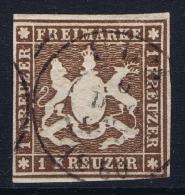 Deutschland Würtemberg Mi Nr 11 Used   1859 - Wuerttemberg