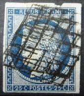 FRANCE             N° 4a             OBLITERE  (2° CHOIX) - 1849-1850 Cérès