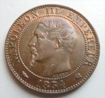 5 Centimes 1854 K - Francia