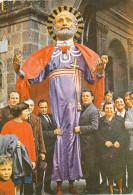 ITALY -  CALTAGIRONE (CT) S.PIETRO NELLA PROCESSIONE DI PASCQUA ,vintage  postcard