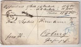 """Österreich, Böhmen, 1870,  """"NEUHAUS """" , S103 - 1850-1918 Imperium"""