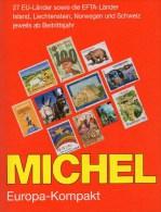 Michel Europa Kompakt Katalog Ab 1956 Mit BRD Neu 69€ In 31 EU-/EFTA-Land A B BG CH CZ D E F FL GB HU I N M P PL RO S SF - Books & CDs