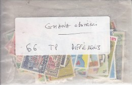 GHANA  - Lot De 5 TP Différents   -  Tous N* Ou (N) - Ghana (1957-...)