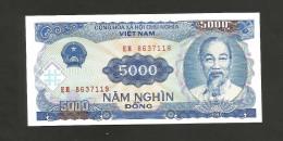 [NC] VIETNAM - 5000 DONG (1991) - HO CHI MINH - Vietnam