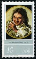 A07-02-7) DDR - Michel 2543 - ** Postfrisch (D) - 10Pf Gemälde Frans Hals - [6] Repubblica Democratica