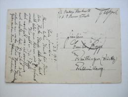 1918, Karte Von SMS  Nassau  , Aus Kiel  (Ansicht) - Brieven En Documenten