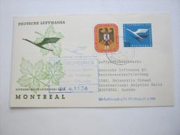 1956, Erstflugbrief - [7] West-Duitsland
