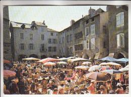 COMMERCE Marchés - Petit Lot Diversifié De 5 CPSM CPM GF Poitiers Ste Foye Villefranche De Rouergue Toulouse Provence - Markets