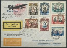 B.14.OCT.851. ERG MOOI POSTSTUK VAM LITOUWEN NAAR DUITSLAND. 1932. LUCHTPOST. AANGETEKEND.