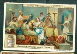 Chromo Liebig  - Le Siecle De Péricles - Banquet De Péricles Et D'Aspasie   - LO35101 - Liebig