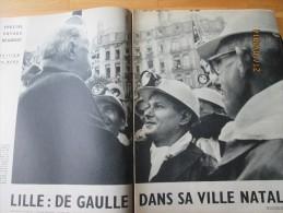 Le General De Gaulle à LILLE 1958 - Vieux Papiers