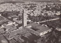 Maroc - Marrakech - Vue Aérienne Koutoubia Médina - Marrakesh