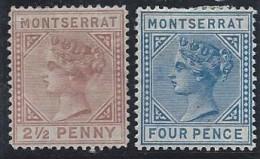 Montserrat - N° 3 Et 4 * - Neuf Avec Charnière - - Montserrat