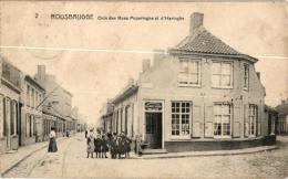 Rousbrugge 2 CPA  Hoek Poperingestr En Haringstr Imprimerie Allaert    Windmolen - Sonstige