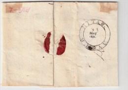 "Lettland, 1831, "" MITAU "" Klar,  #109 - Lettland"