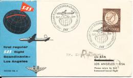 Sweden First SAS Regular Flight Stockholm - Los Angeles Via Greenland 15-11-1954 - Sweden